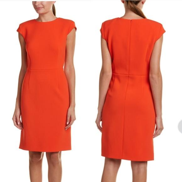 9f6577998b39 Escada Dresses & Skirts - Escada | Orange Sheath Dress